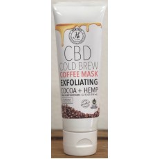 CBD Cold Brew Exfoliating Coffee Mask - Cocoa + Hemp