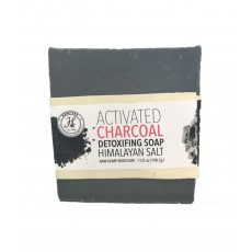 Activated Charcoal Detoxifying Soap – Himalayan Salt